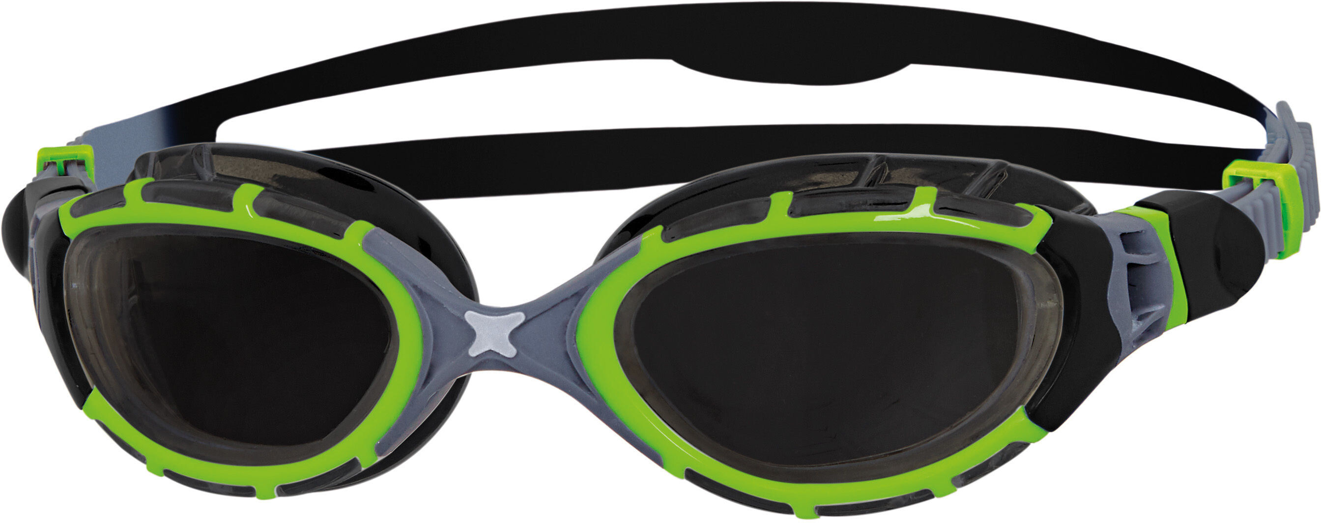 Zoggs Predator Flex - Lunettes de natation - Titanium Reactor vert noir fd1054bf221e
